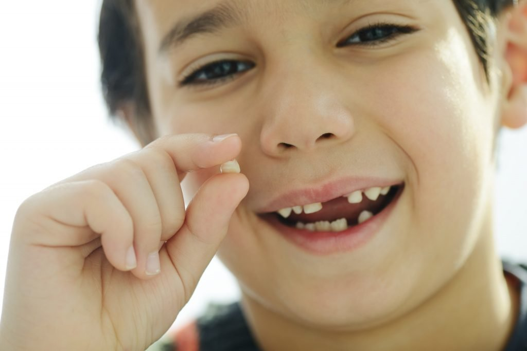 Tooth loss is a normal part of childhood.